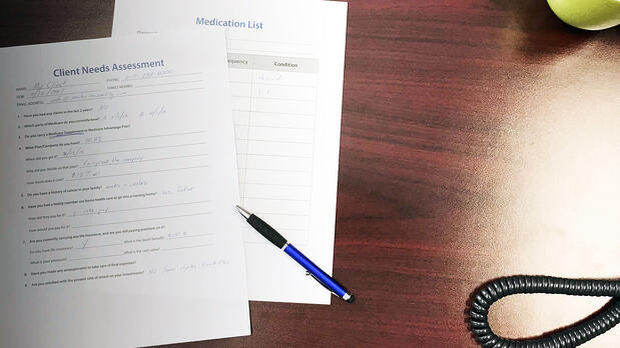 Client Needs Assessment for senior market insurance agents